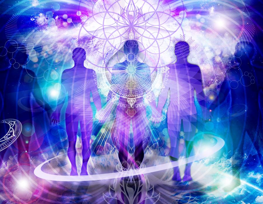 Сущности света и вознесение