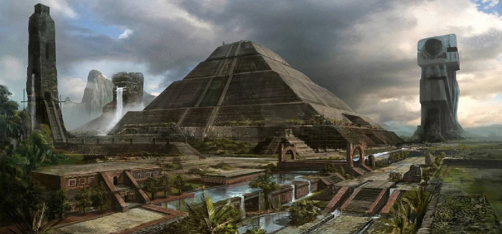 Пирамидах Южной Америки