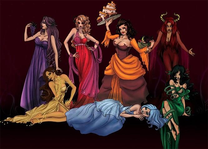 7 смертных грехов и осознание себя целостным