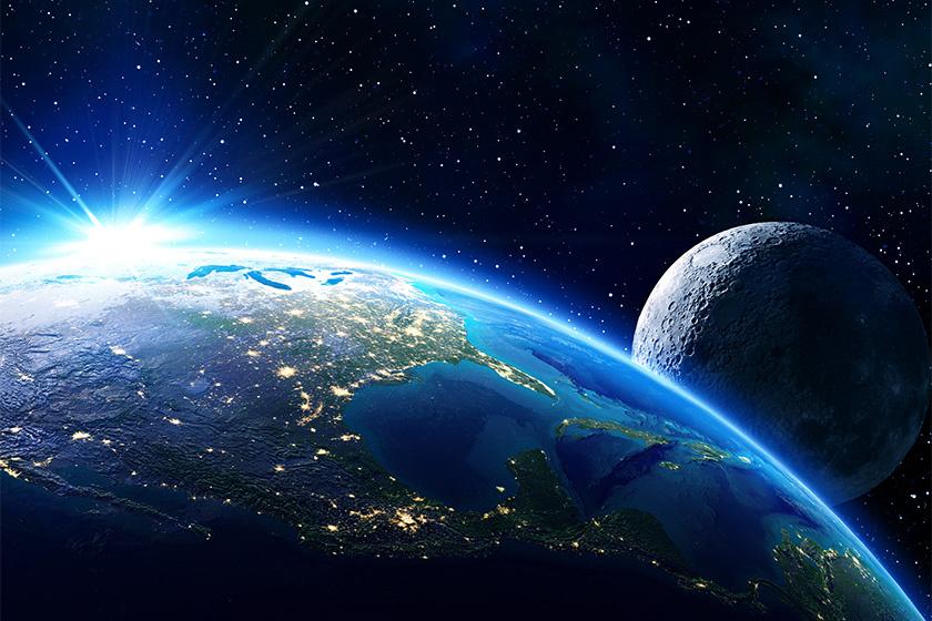 Влияние луны на сознание. Разговор с рептилией