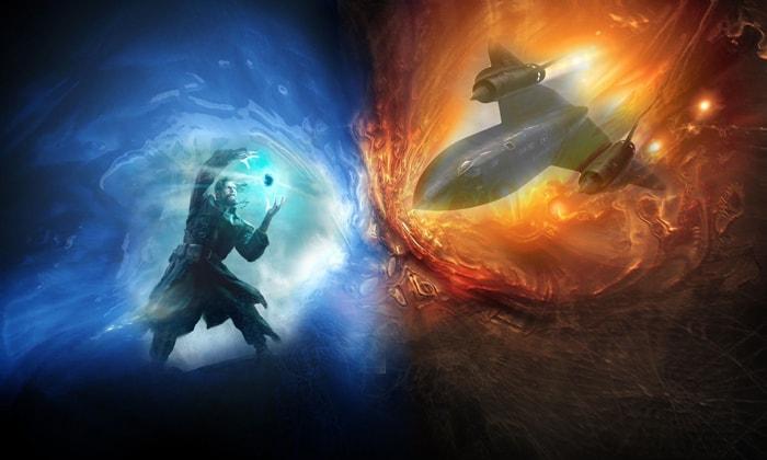 Магические и техномагические миры или о запрете вмешательства