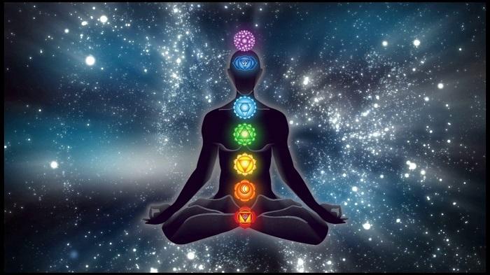 Связь семи чакр с органами физического тела