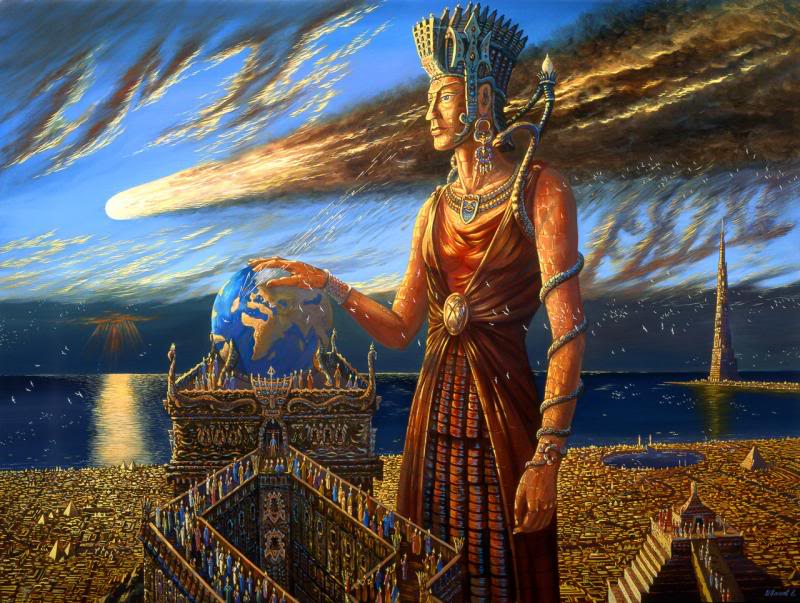 Картинки с богинями и атлантами