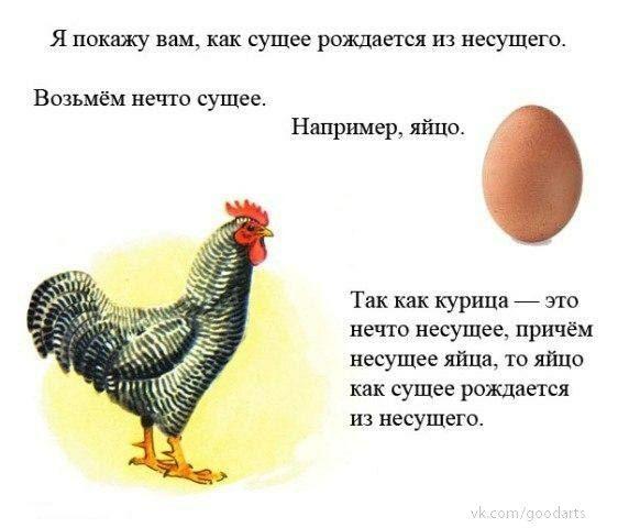 Опылители реальностей или как яйцо появилось до курицы
