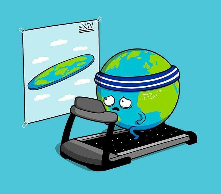 Структура Земли и её мифологизация. Полая и плоская Земля