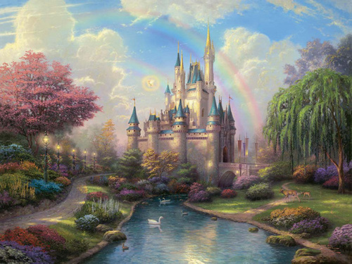 castle-dream-fantasy-lake