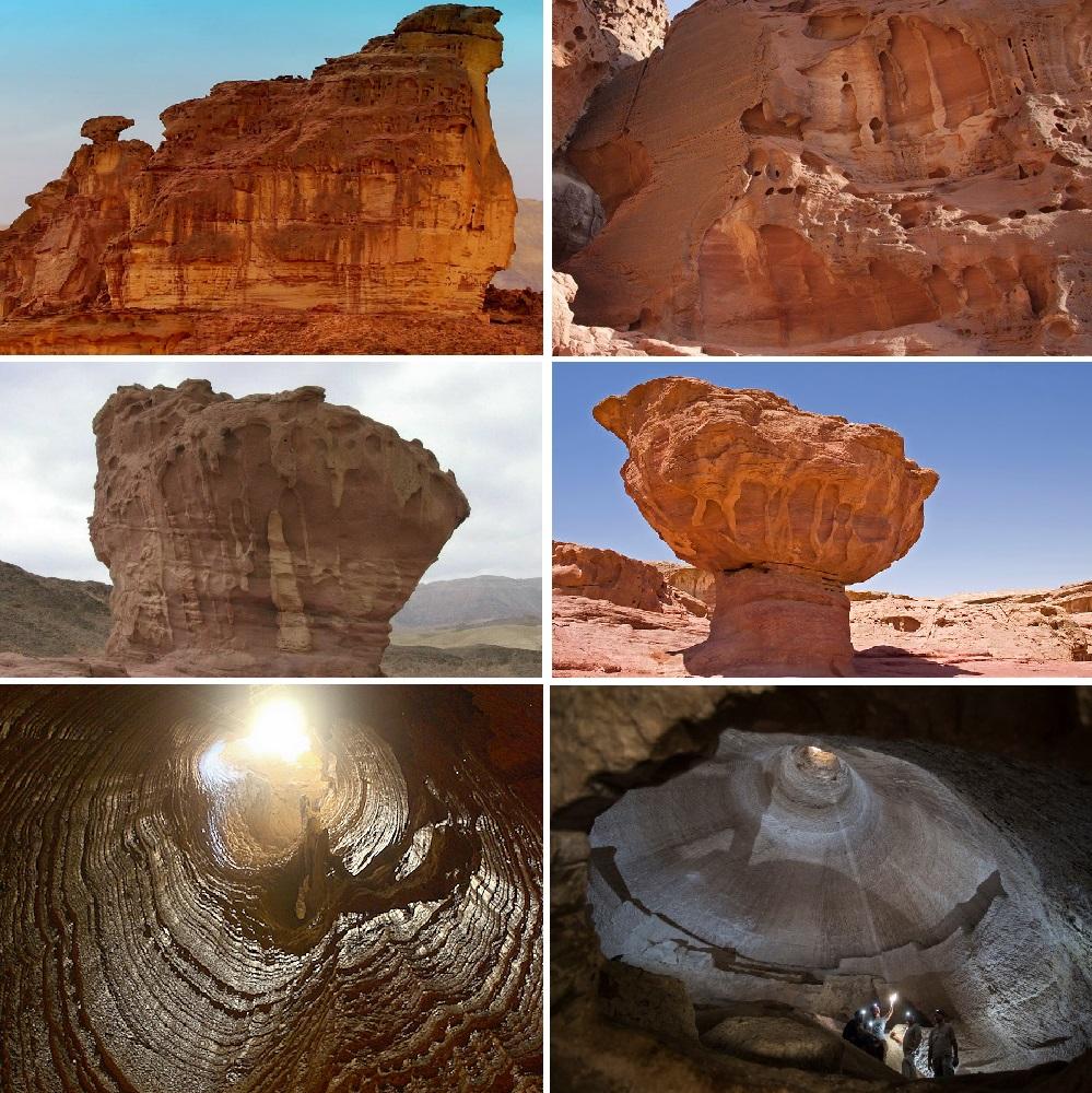 Земля-рудник. Долина Тимна, гора Содом и пещеры Bet-Guvrin