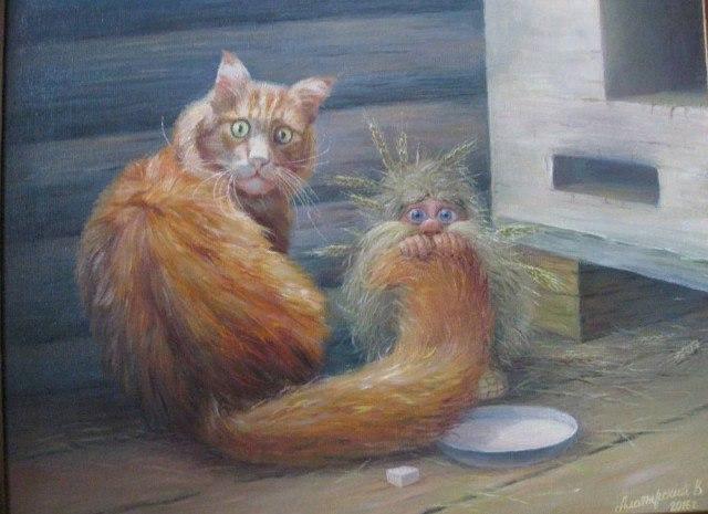 Дневник домового. И кота