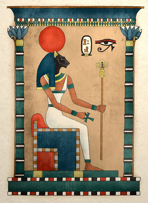 магия кошек в древнем Египте и сейчас