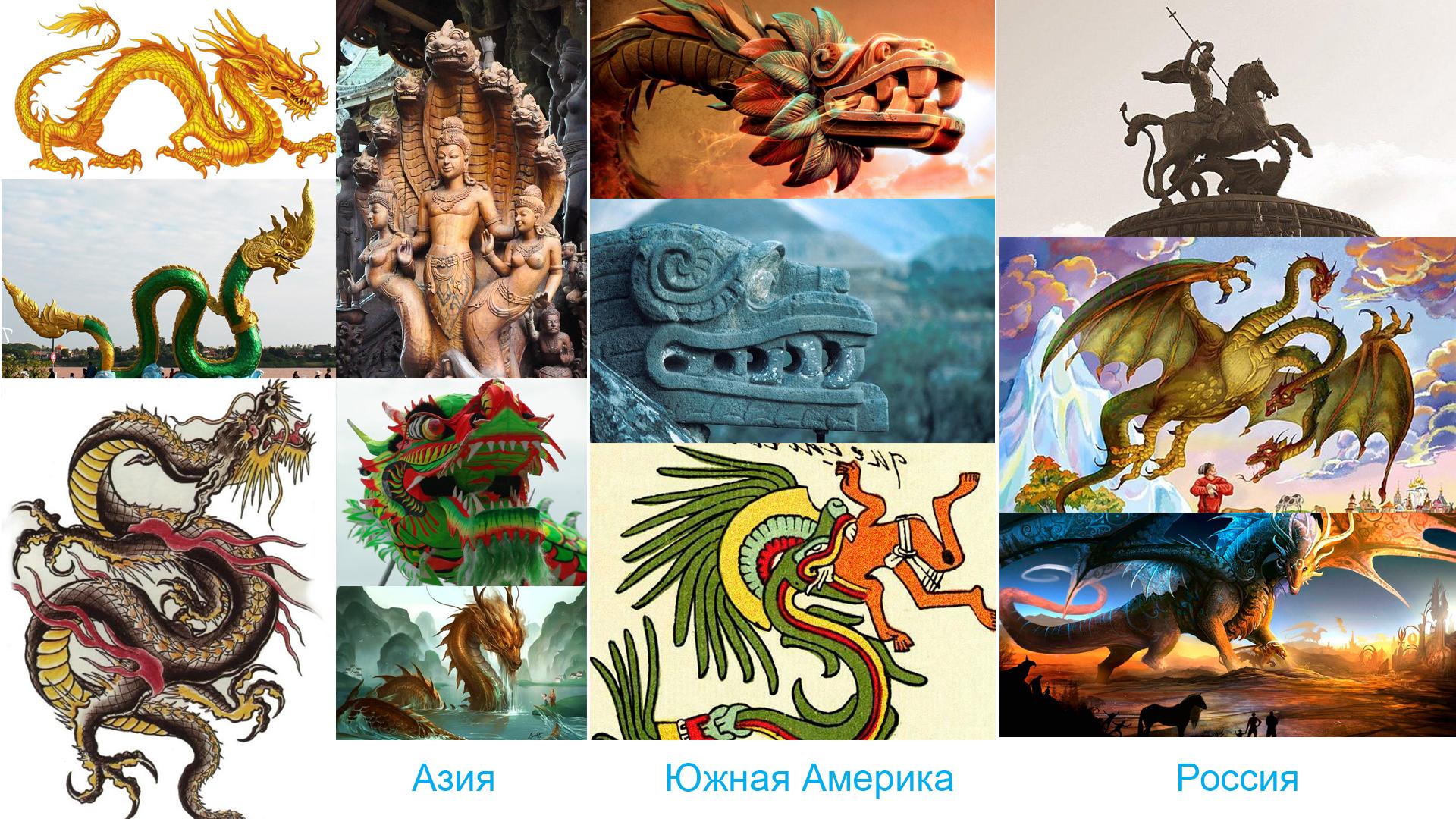 Драконы и рептилоиды. В чем разница?
