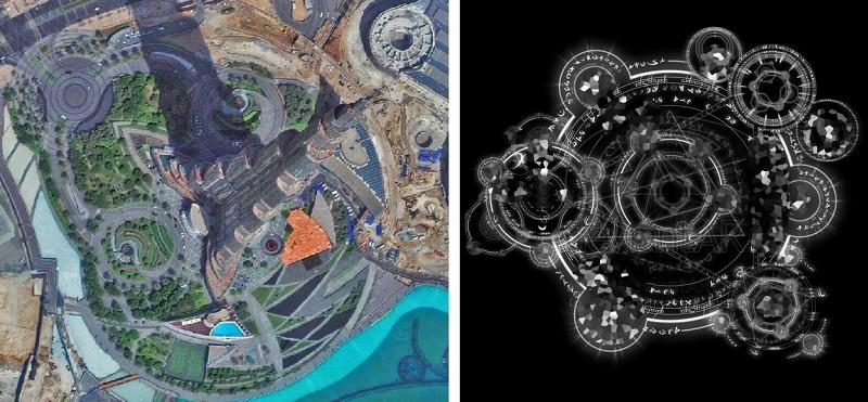 ДУБАЙ. МАГИЯ БАШНИ  ХАЛИФА И ДРЕВНИЙ ИСТОЧНИК ИЗОБИЛИЯ. Dubai-Burj-Khalifa-magic