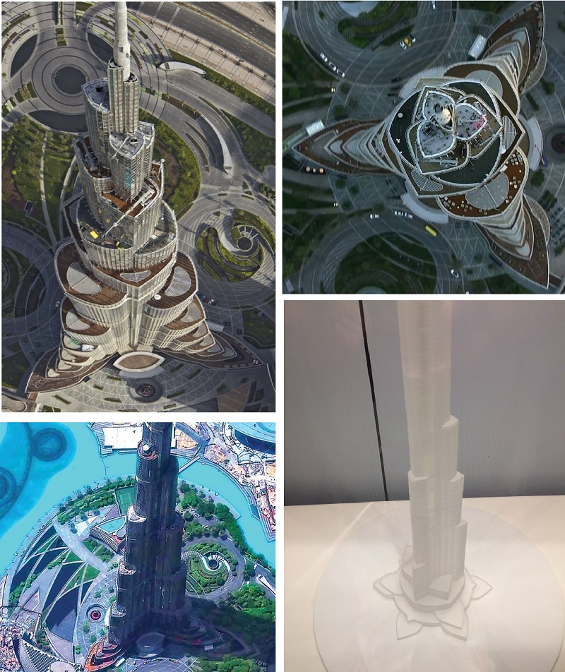 ДУБАЙ. МАГИЯ БАШНИ  ХАЛИФА И ДРЕВНИЙ ИСТОЧНИК ИЗОБИЛИЯ. Dubai-Burj-Khalifa