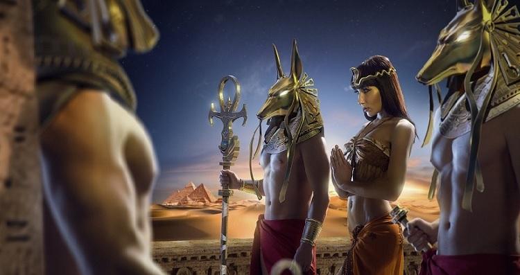 Магия Египта, книга знаний и черный кристалл