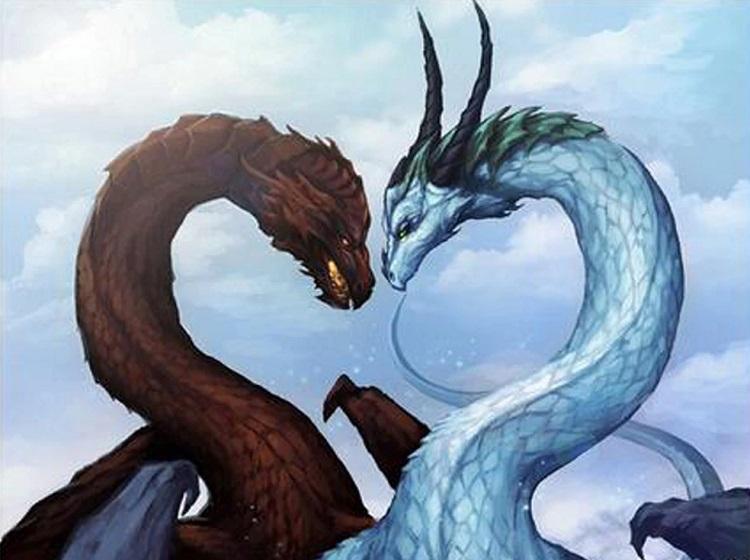 Парный сеанс двух драконов. Встреча с Смертью