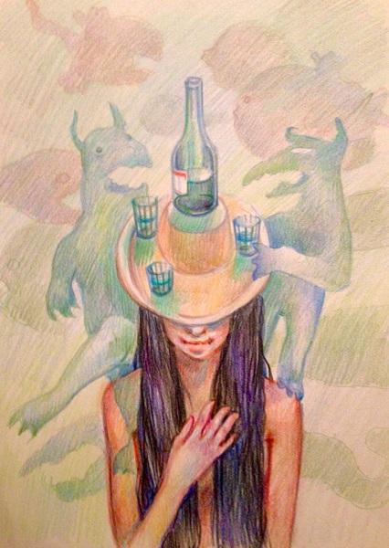 Алькогольные лярвы