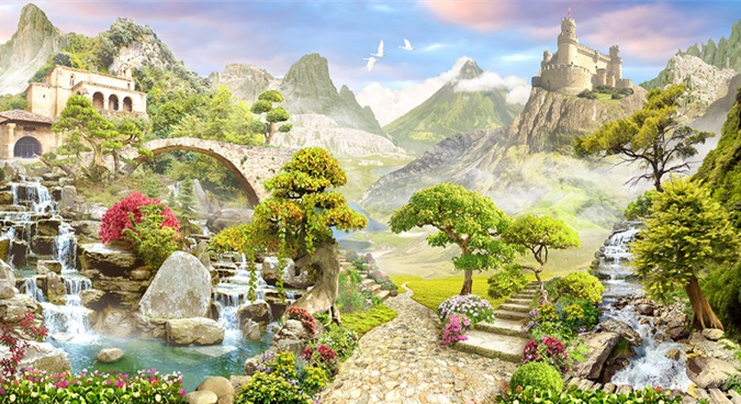Ритуальная магия, жизнь феи, сердце дракона и история людей