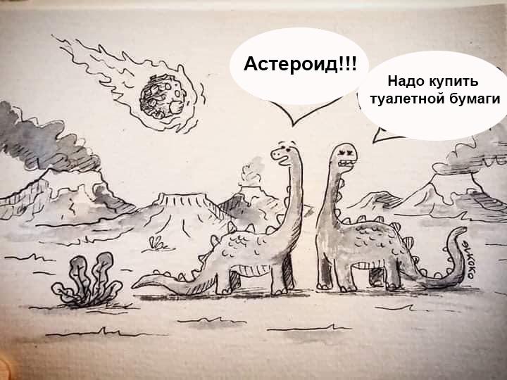 Коронавирус, черные лебеди и ожидание назревающего события Koronavirus-asteroid