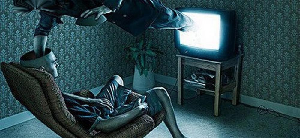 Как работает телевизор. Чистка дома и психотроника