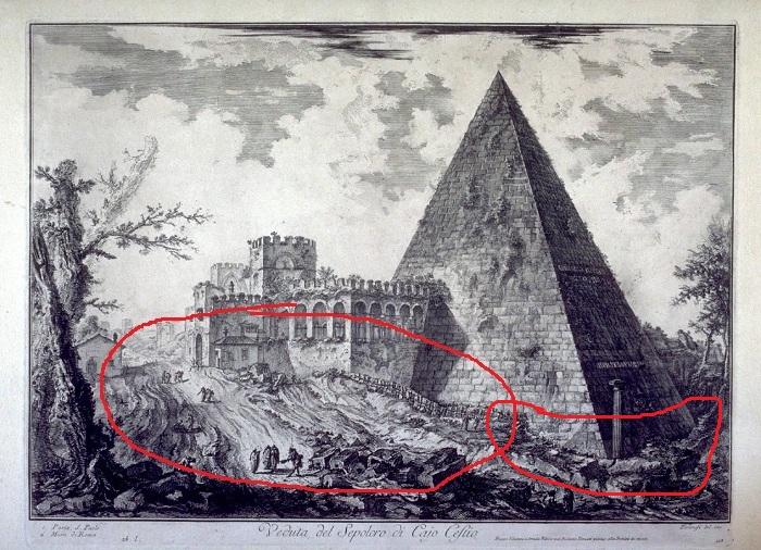 Giovanni-Battista-Piranesi-Views-of-Rome-Pyramid-of-Caius-Cestius-1755-painting-artwork-print